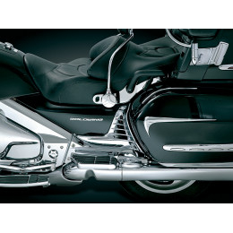 Louvered Chrome Battery Box Covers for Honda