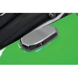 Mirror Block-Off Plates for Kawasaki EX650R 09-12