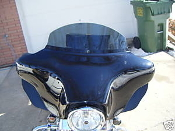 "6"" Windshield for 1996 and newer Harley Touring"