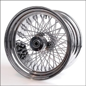 "18"" x 5.50"" with twisted spokes"