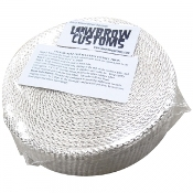 Exhaust Wrap Header Tape - White Color - 2 inch x 50'