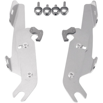 Memphis Batwing Fairing Trigger-Lock Mount Kit for FLSTF- W/L