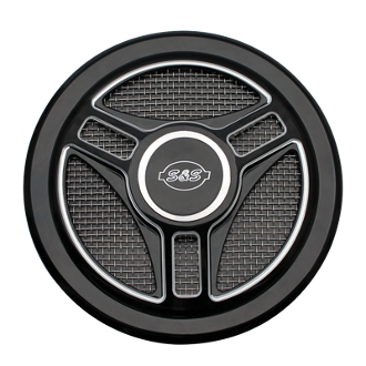Tri-Spoke Cover for Stealth Air Cleaner