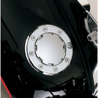 Flush-Mount Gas Cap Non-Vented Fat Bob-Style (left hand thread)