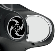 Fairing Mount Mirrors for 96-13 FLHT/FLHX/H-D FL TRIKE