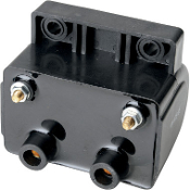 12V, 5 OHM/Points Ignition/Dual Fire Ignition Coil