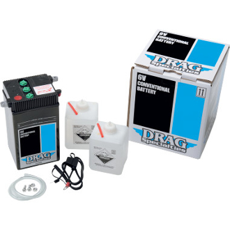 Drag Specialties Conventional Battery Kit for 48-64 FL/FLH