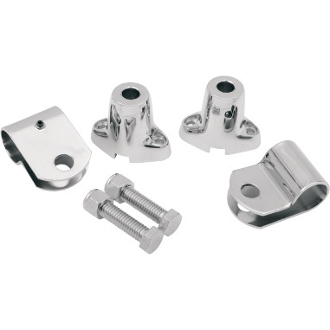 Turn Signal Mounting Bracket Kit for 63-65 FL and FLH