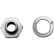 Seat Post Rod Locknut for 36-47 Knucklehead