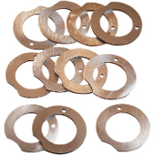 Flywheel Thrust Washer Set for 29-47 Knucklehead/Flathead