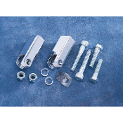 Chrome Passenger Footpeg Mount Kit for 83-85 XL