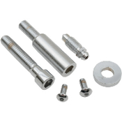 Chrome Front Caliper Mounting Bolt Kit for 84-85 XL