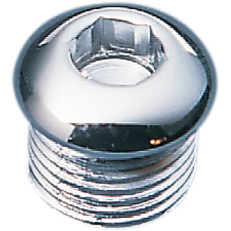 Chrome Timing Plug/Oil Tank Drain Plug