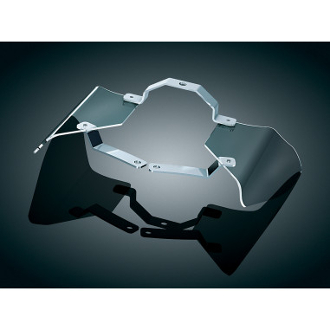 Reflective Smoke Saddle Shields for 00-14 FXST/FLST