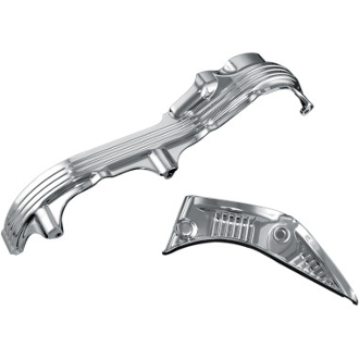 Deluxe Chrome Inner Primary Cover Accent for 04-16 XL