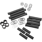 Satin Black Pushrod Tube Kit for 99-14 Twin Cam