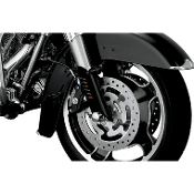 Gloss Black Lower Fork Leg Deflector Shields
