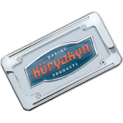 Ball-Milled License Plate Frames