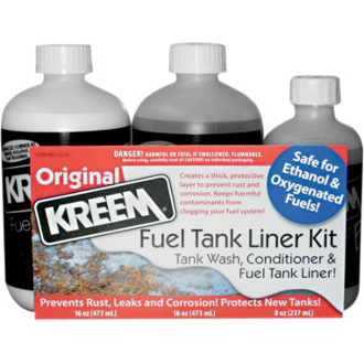 Fuel Tank Liner and Tank Prep Combo Pak