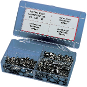 Chrome End Plug Assortment Kit for Allen-Head Bolts