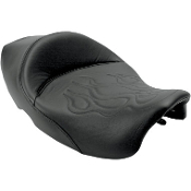 Tattoo Solo Seat for 97-07 FLHR, 06-07 FLHX
