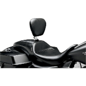 Outcast Seat with Backrest for 08-13 FLHT, FLHR, FLHX & FLTR