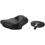 Wide Solo Seats w/Removable Backrest for 04-14 XL