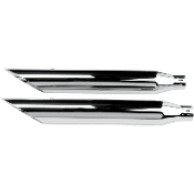 "3"" HP-Plus Chrome Slip-On Mufflers for 07-14 FLSTN, 08-11 FLSTSB"