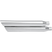 "3"" HP-Plus Chrome Slash Down Slip-On Mufflers"