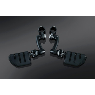 Gloss Black Longhorn Offset Dually Highway Pegs