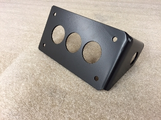 Side Mount License Plate HORIZONTAL bracket