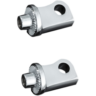 Male-Mount Footpeg Adapters