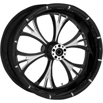 "One-Piece Forged Rear Aluminum Wheels- 17"" x 6.25"""