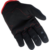 Moto Gloves- Black/Red