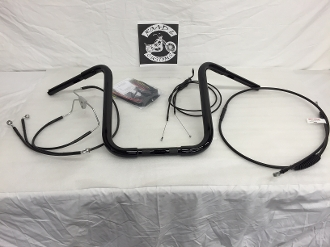 "13"" x 1/4"" Standard Apes & Cable Kit 2007 Road Glide"