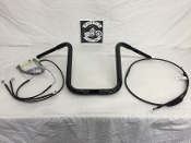 "2015-2019 Road Glide Standard Apes 15"" x 1 1/4"" & Cable kit"