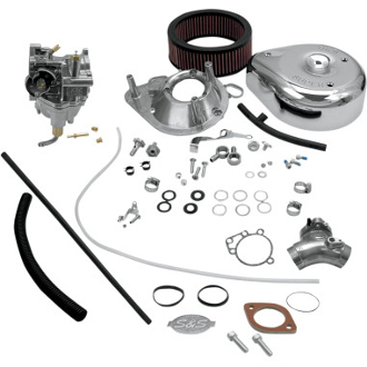 Super E & G Shorty Carburetor Kit for 99-05 Twin Cam