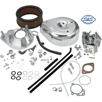 Super E Shorty Carubretor Kit for 92-99 Evolution Big Twin
