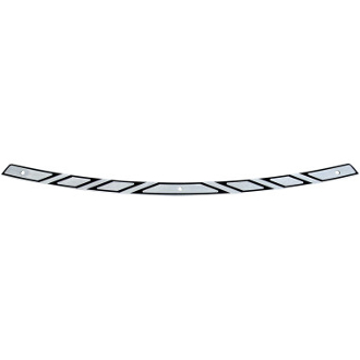 Flare Series Windshield Trim for 14-17 Models