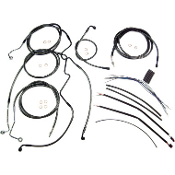 "18""-20"" Handlebar Cable Kit Bagger WITH ABS"