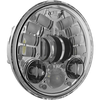 "5.75"" ADAPTIVE HEADLIGHTS, black or chrome"