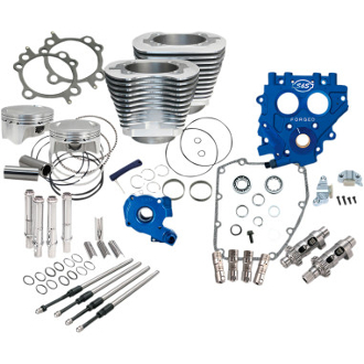 "S&S 110"" Power Package for HD® Twin Cam 96™, 103™ Models -Silver"