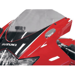 Mirror Block-Off Plates for Suzuki