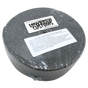 Exhaust Wrap Header Tape - Black Color - 2 inch x 50'